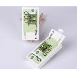 Nuevo diseño tejido 10 unids papel servilleta creativa pañuelo dinero euro papel de la boda para la fiesta de cumpleaños eventos decoración suministros