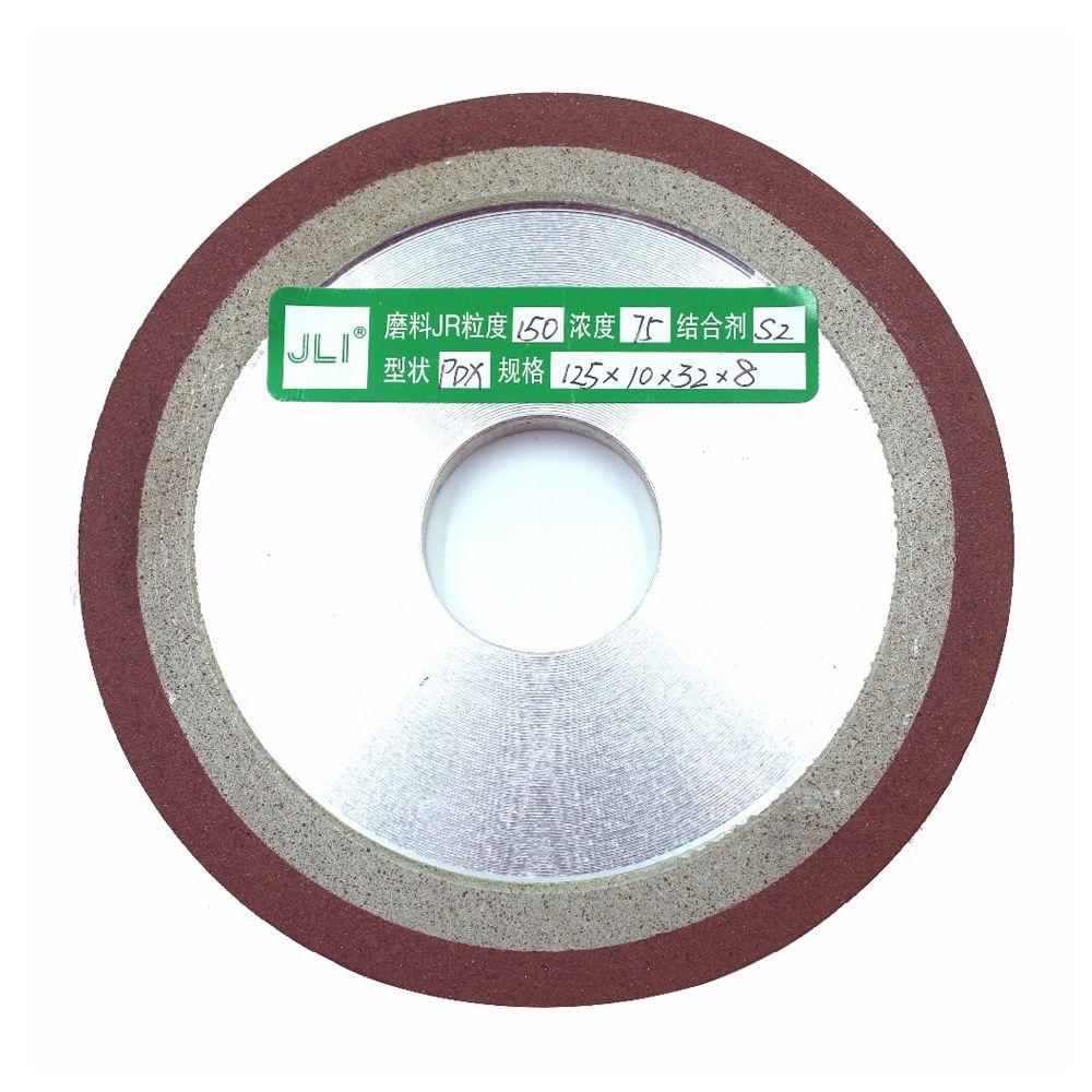 Haute qualité 1 pièces degré diamant roue PDX 125mm coupe électrolytique lame de scie meulage disque Grain finesse outils rotatifs