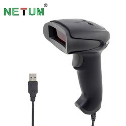 NT-2012 Handheld Barcode Scanner Reader USB Wired 1D Bar Code Scan for POS System