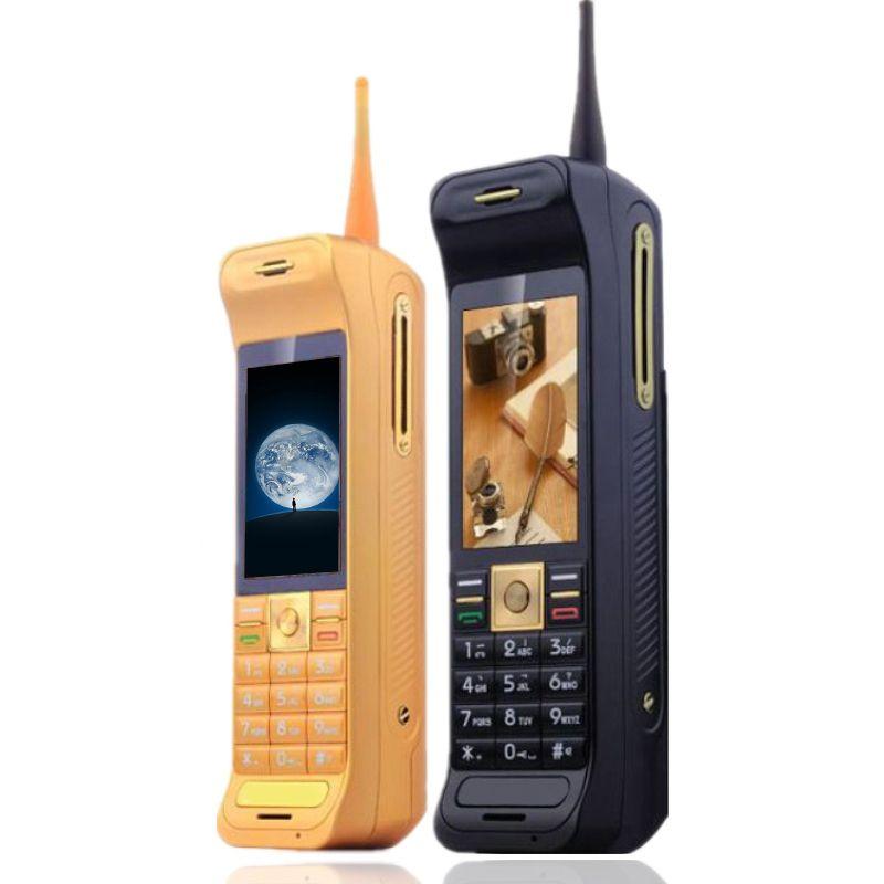 Ретро Stlye антенны хороший сигнал Touch Screen Power Bank экстраверт FM Bluetooth фонарик GPRS blacklist мобильного телефона P185