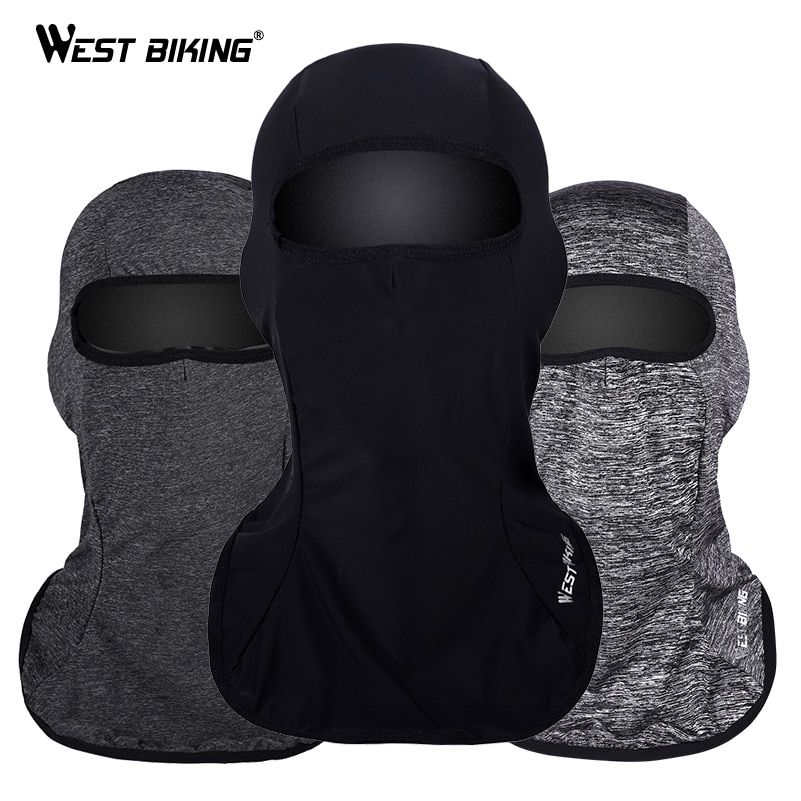 WEST RADFAHREN Atmungs Radfahren Gesichtsmaske Sturmhaube Winddicht Anti-Uv 40 + Rennrad MTB Maske Hut Sport Fahrrad Schal Gesicht maske