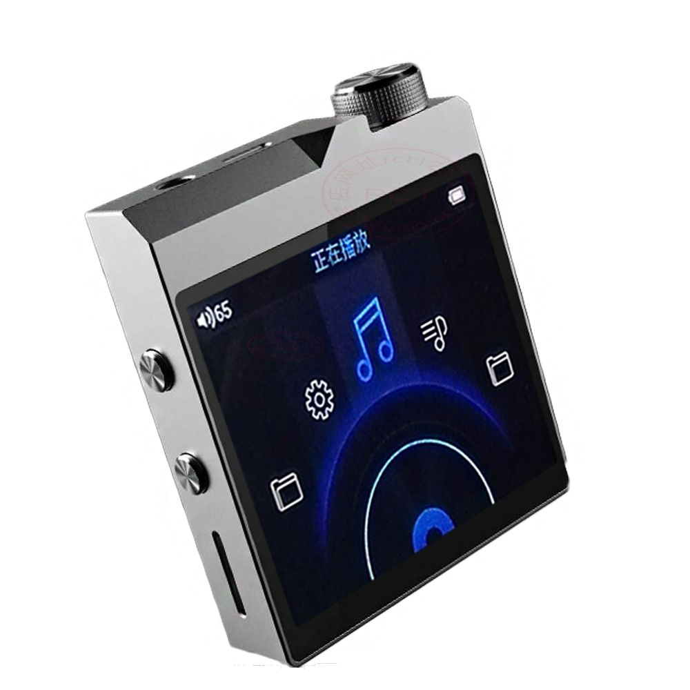 High quality DIY QNGEE X2 MP3 Bluetooth 4.1 Lossless Music DIY MP3 HiFi Music Player MAX Support 256GB TF Card Expansion