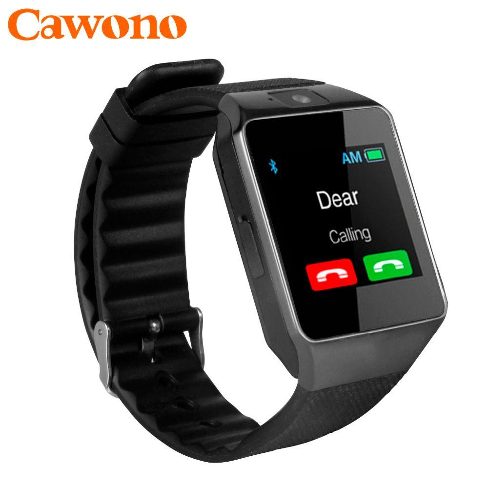 Cawono Bluetooth Smart Watch DZ09 <font><b>Relojes</b></font> Smartwatch Relogios TF SIM Camera for IOS iPhone Samsung Huawei Xiaomi Android Phone