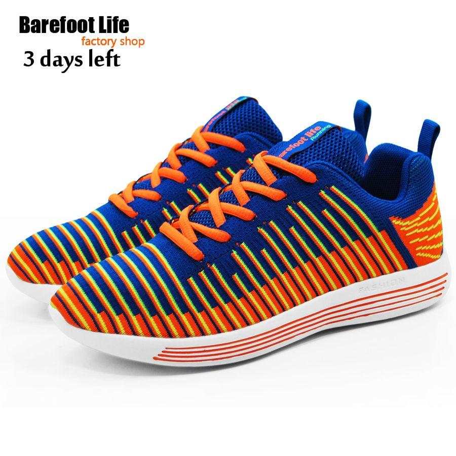 Оранжевые кеды, новых materail компьютер тканый верх мягкая comtable обувь женщины и мужчины, спортивные бег прогулочная обувь, кроссовки