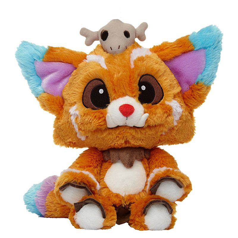 32CM Game League LOL Gnar Plush Toys Doll Official Edition 1:1 Gnar Plush Soft Stuffed Toys for Christmas Birthday Gifts