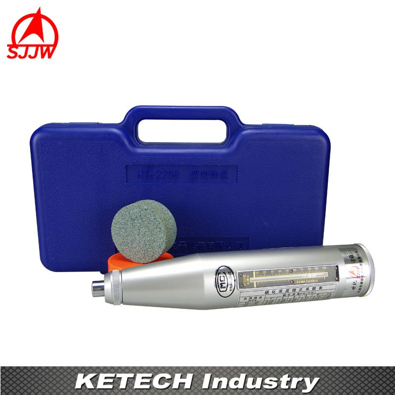 High Quality Resiliometer Concrete Rebound Hammer Tester Concrete Rebound Test Schmidt Hammer (Engineering Plastics Case) HT-225