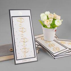 13 designs kawaii or papier clip en métal 4 pcs/pack signets de stockage bureau accessoires or rose bowtie avion mignon papier clips