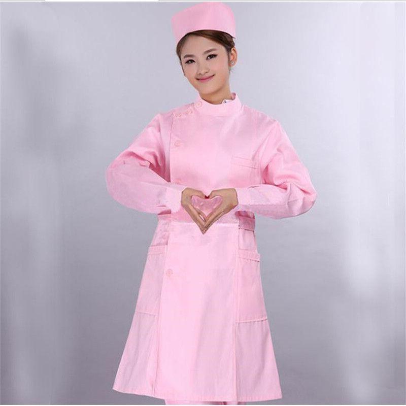 Uniformes hôpital soins infirmiers scrubs vêtements médicaux blouse de laboratoire blanc/médecin infirmière salopette médical/femmes travail porter blouses fit