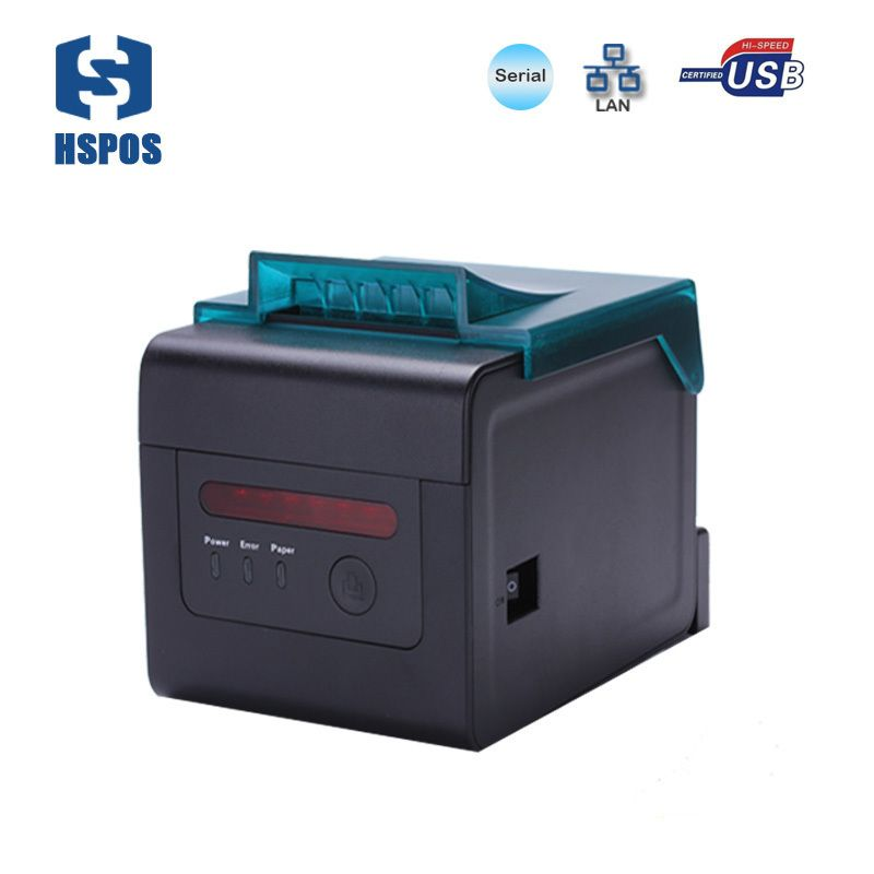High Quality professional kitchen bill printer 80mm and 58mm thermal usb serial lan receipt printer alarm for order with cutter