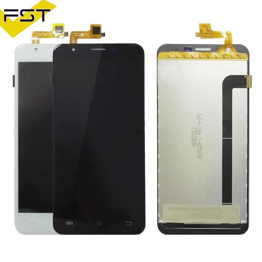 For BQS 5505 LCD Display+Touch Screen Screen Digitizer Assembly Repair Parts+Tools +Adhesive LCD Glass Panel for BQ S 5505