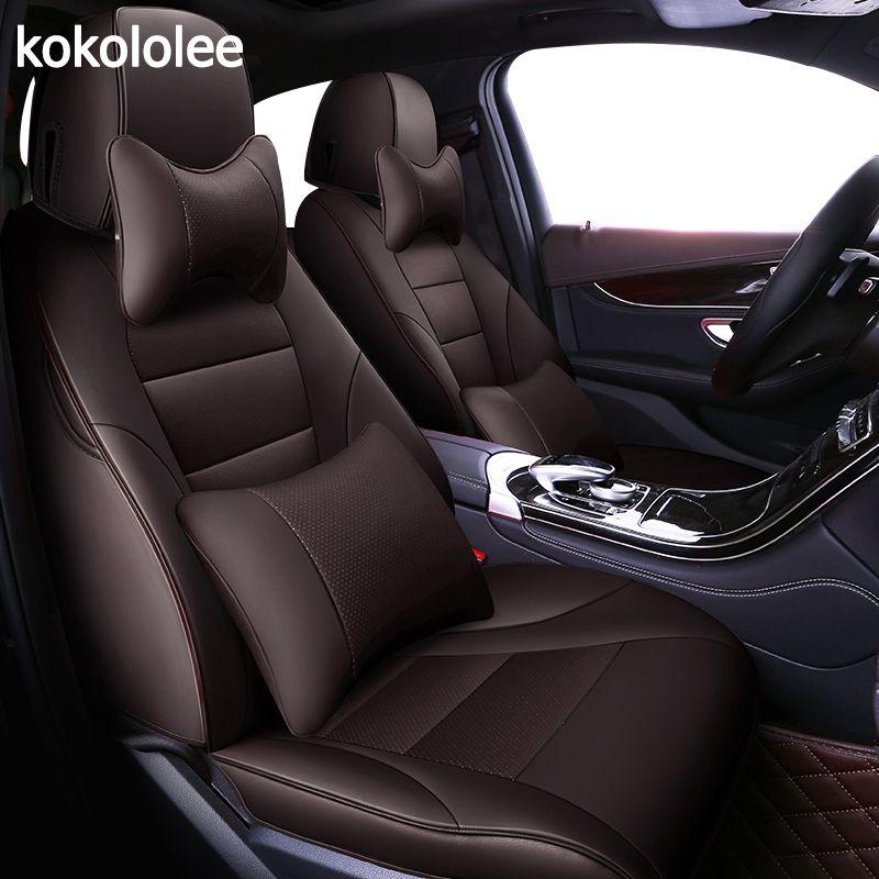 kokololee custom real leather car seat cover For nissan qashqai j10 almera n16 note x-trail t31 patrol y61 teana j31 car-styling