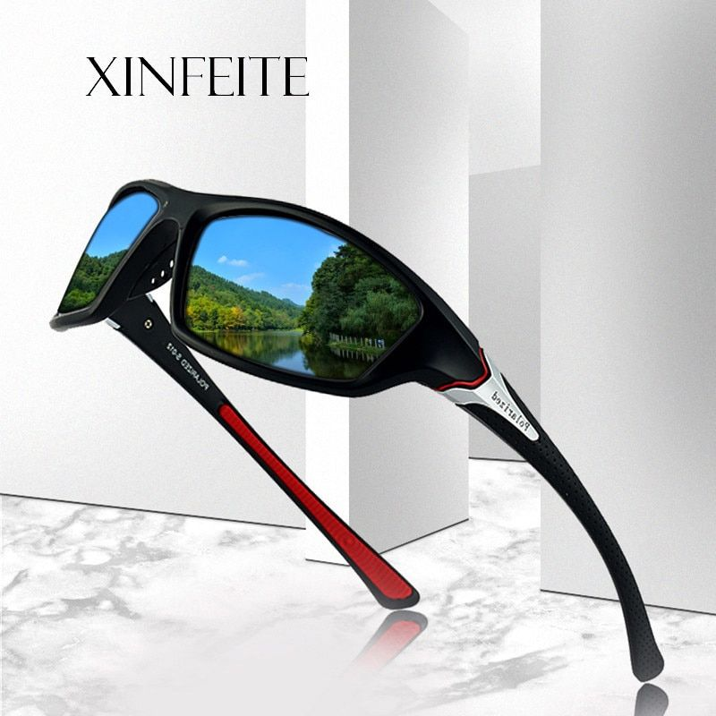 Xinfeite Sunglasses Classic High Quality PC Frame HD Lens Polarized UV400 Outdoor Sports Sun Glasses For Men Women X431