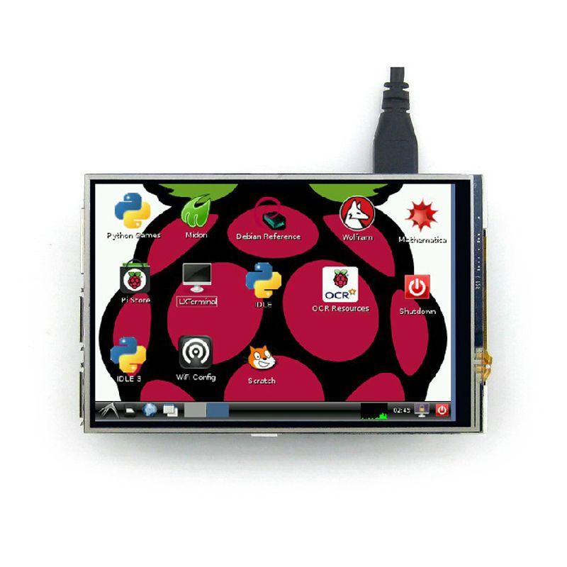 3.5 pouce LCD Écran Raspberry Pi Affichage Modã ¨ Le Raspberry Pi 3 tactile LCD Écran également Soutien pour Raspberry Pi 2 Livraison gratuite