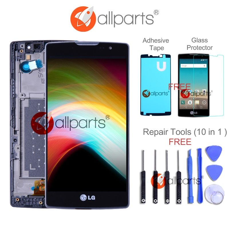 Original 4.7 3G 4G LTE for LG Spirit LCD Display H440 H442 LCD Touch Screen Replacement H422 H440N C70 for LG Spirit Display