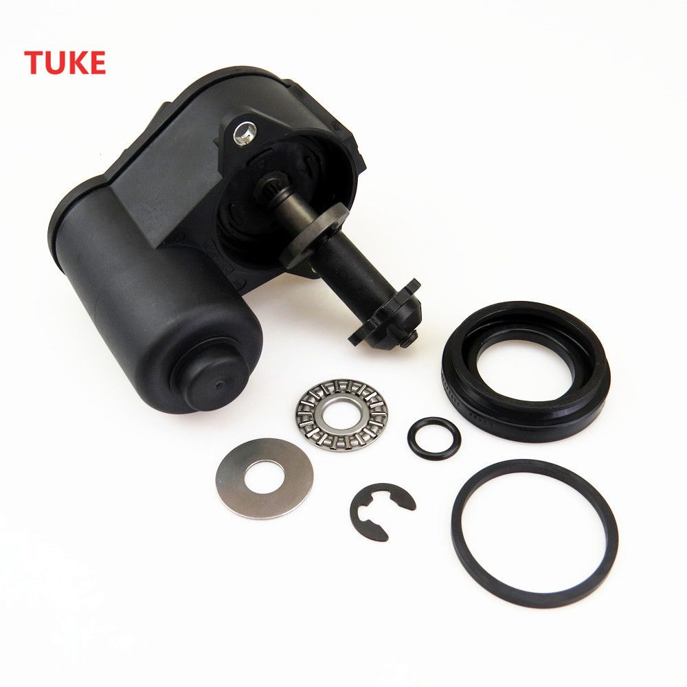 TUKE 1 Set Car Hand Brake Servo Caliper Motor & Screw Repair Kit For VW TIGUAN SHARAN PASSAT B6 B7 CC 32332267 3C0 998 281 A