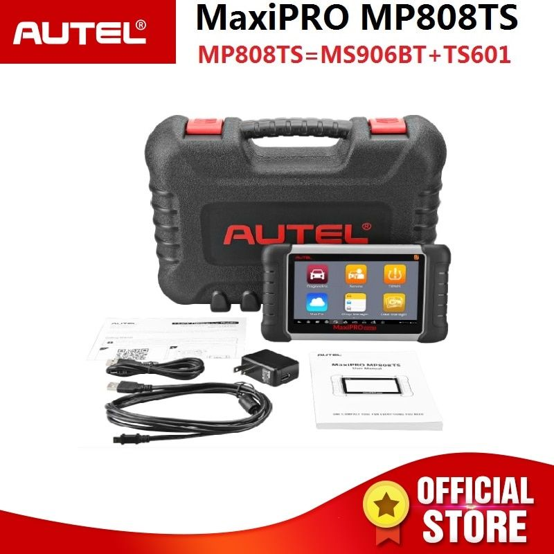 Autel MaxiPRO MP808TS Aktivierung Programmierung und alle System OBD Diagnose Werkzeug Kombiniert von DS808/MS906 und TPMS aktivieren sensor
