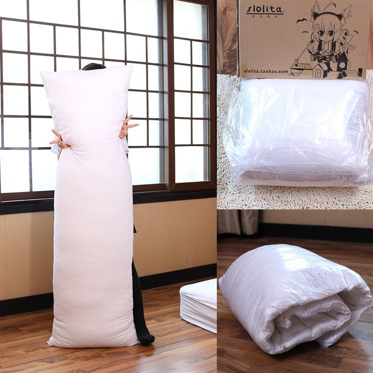 Anime Long corps câlin étreinte oreiller noyau intérieur Insert grands oreillers PP coton coussin de remplissage pour adulte 160*50 cm/35*55 cm/45*70 cm