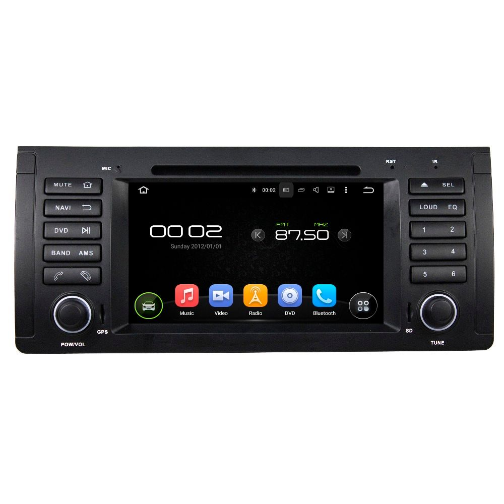 Android 8.0 octa core 4GB RAM car dvd player for BMW M5 E39 X5 E5 ips touch screen head units tape recorder radio gps