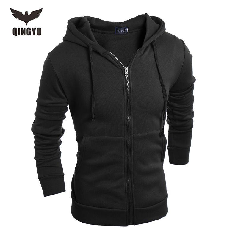 Hot 2018 New <font><b>Arrival</b></font> Gary Cotton Men Winter Hoodies Villus Male Sweatshirts High Quality zipper Hooded Brands Men's Coat XXL