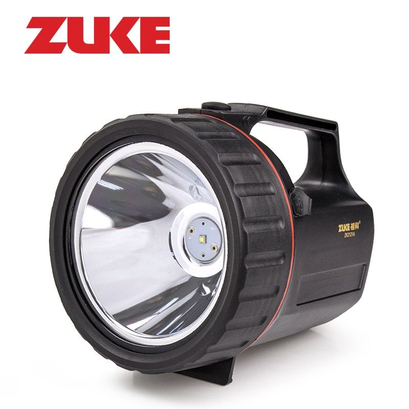 ZuKe 5W Rechargeable LED Flashlight Built-in 4800mAh 18650 Battery Handy Portable Spotlight Outdoor 330LM Led Torch Searchlight