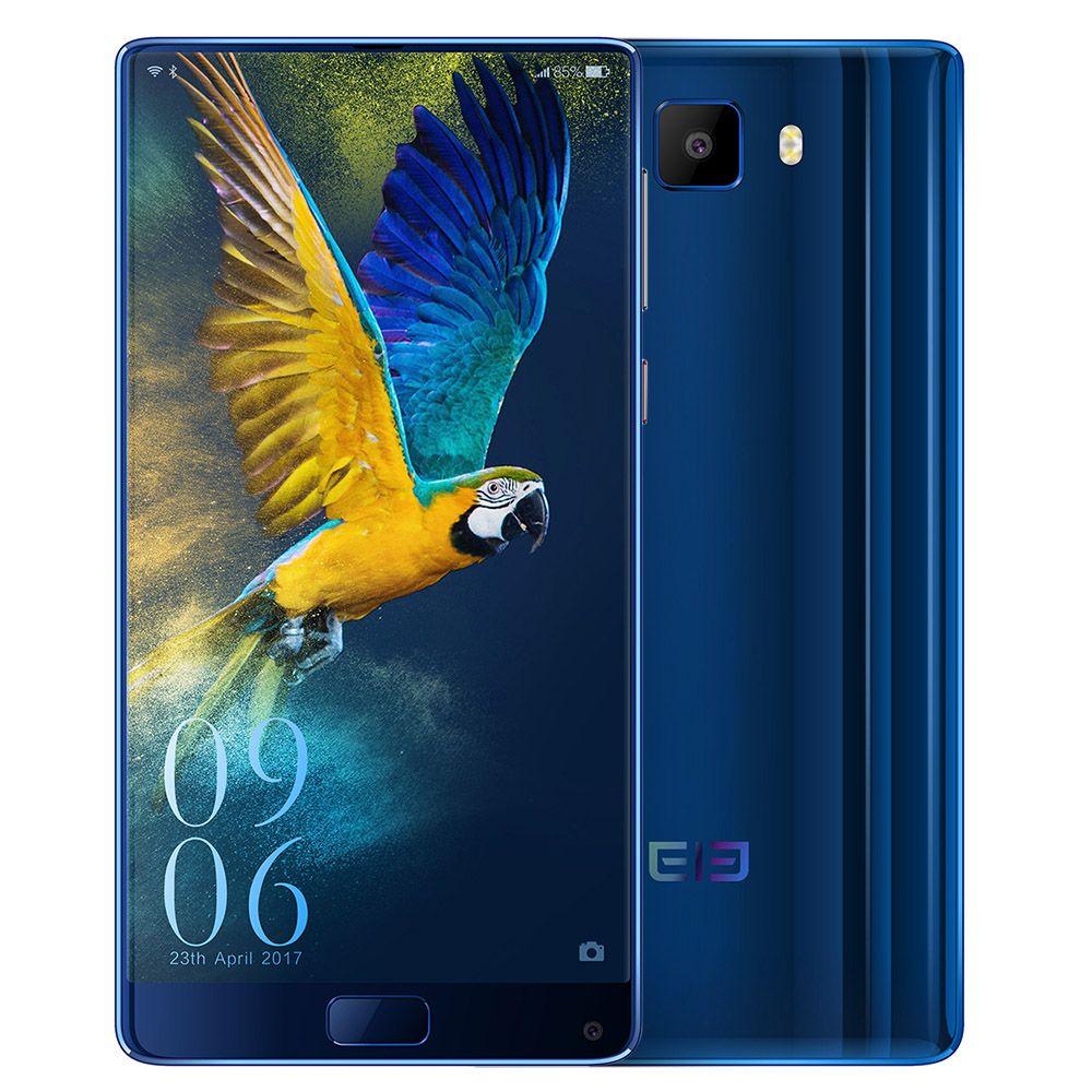 Elephone S8 Deca Core 4G Phablet Android 7.1 6.0 pouce 2 K Écran Helio X25 2.5 GHz 4 GB + 64 GB 21.0MP D'empreintes Digitales Scanner Cellulaire téléphones