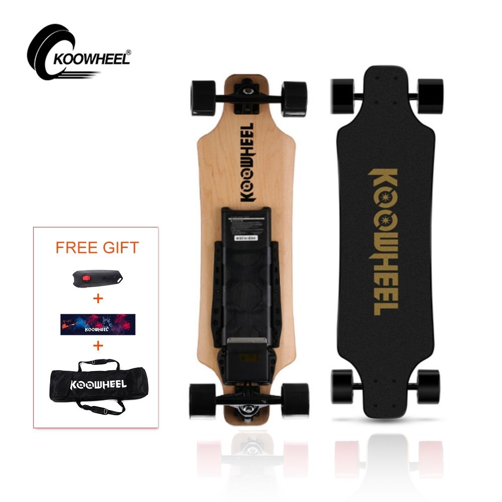 KOOWHEEL 2nd Generation Electric Longboard 4 wheel Electrico Hoverboard Electric Skateboard Dual motor Long Range 42KM Set Speed