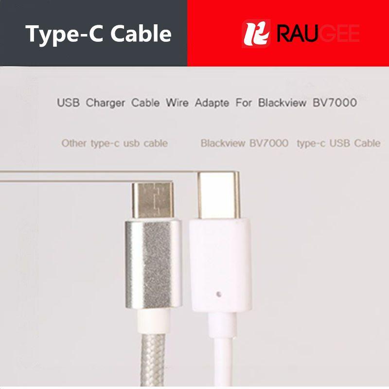 For Oukitel K10000 MAX USB Cable Extended version Type-C 1M Premium Type C Typec USB Wire For UMI Super/Plus/UMIDIGI S2 PRO/S2