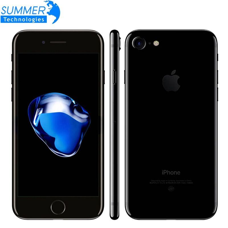 D'origine Apple iPhone 7 plus iOS Quad Core A10 Mobile téléphone 3 GB RAM 32 GB 128 GB 256 GB ROM Double 12.0MP LTE Smartphone