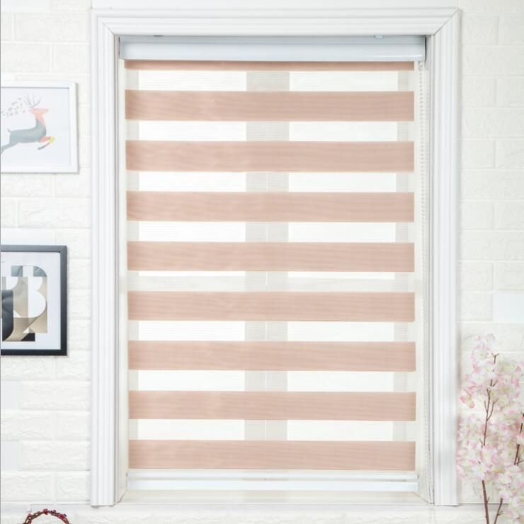 FREE SHIPING Window curtain zebra blinds roller blinds for living room office kitchen Haoyan roller cortina Customized Size