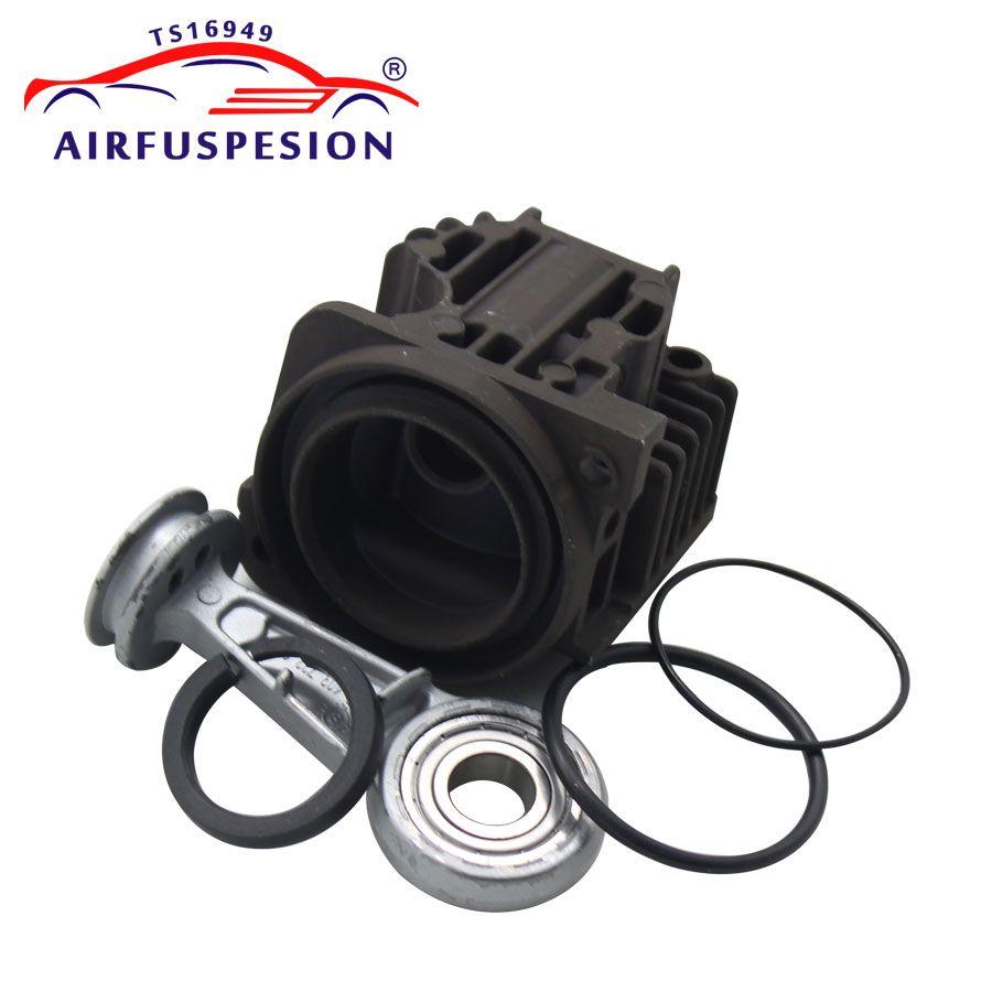 Für X5 E53 A6 C6 Q7 VW Touareg Cayenne L322 Luft Kompressor Pumpe Zylinder Kopf Kolben Ring Pleuel Reparatur kit 4L0698007A