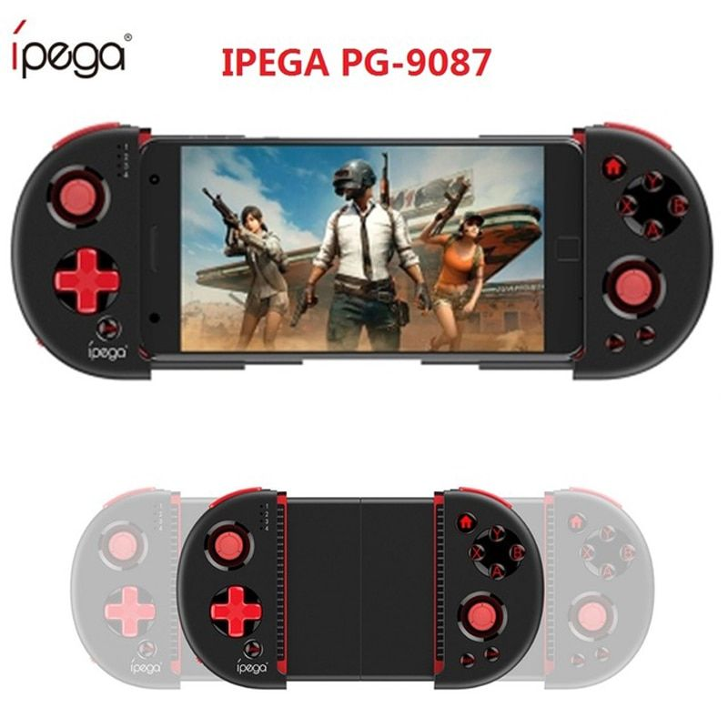 Ipega 9087 Dzhostik Game Pad Bluetooth Gamepad Controller Mobile Trigger Joystick For Android Cellular Phone PC Wireless