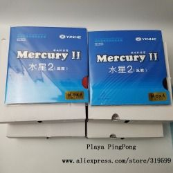 1x Original yinhe Mercury 2 table tennis rubber 9021 for table tennis rackets blade racquet ping pong rubber pimples in