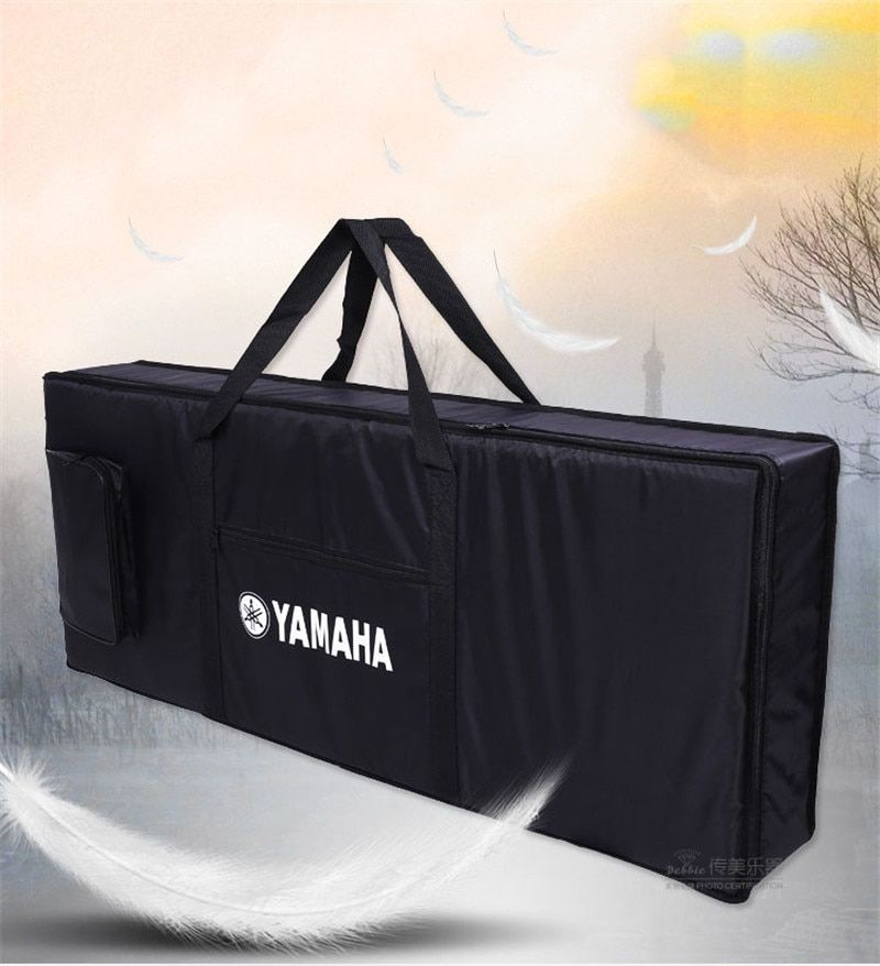 76 key professional Instrument keyboard piano bag thickened cover case double shoulder belt  for electronic organ