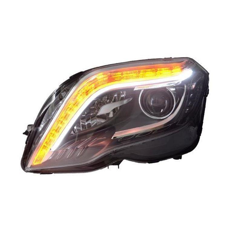 Assessoires Montage Cob Styling Außen Lichter Auto Blinker Led Drl Auto Beleuchtung Scheinwerfer Für Mercedes Benz Glk