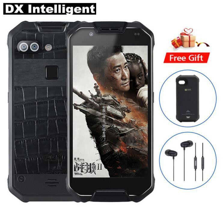 AGM X2 IP68 Wasserdichte Robuste Handy 5,5 Snapdragon 653 MSM8976SG Octa Core 6 gb + 128 gb 16MP + 12MP Dual Kamera 6000 mah NFC