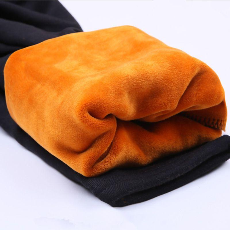 Medias de maternidad embarazadas ropa de invierno grandes patios engrosada cuidado de terciopelo mujeres embarazadas pantalones calientes piernas ropa embarazadas