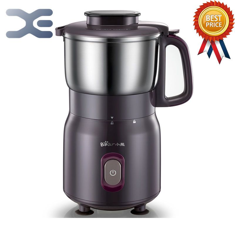 High Speed Grinder 220V Brewing Electric Coffee Grinder 500W Machine New Free Shipping