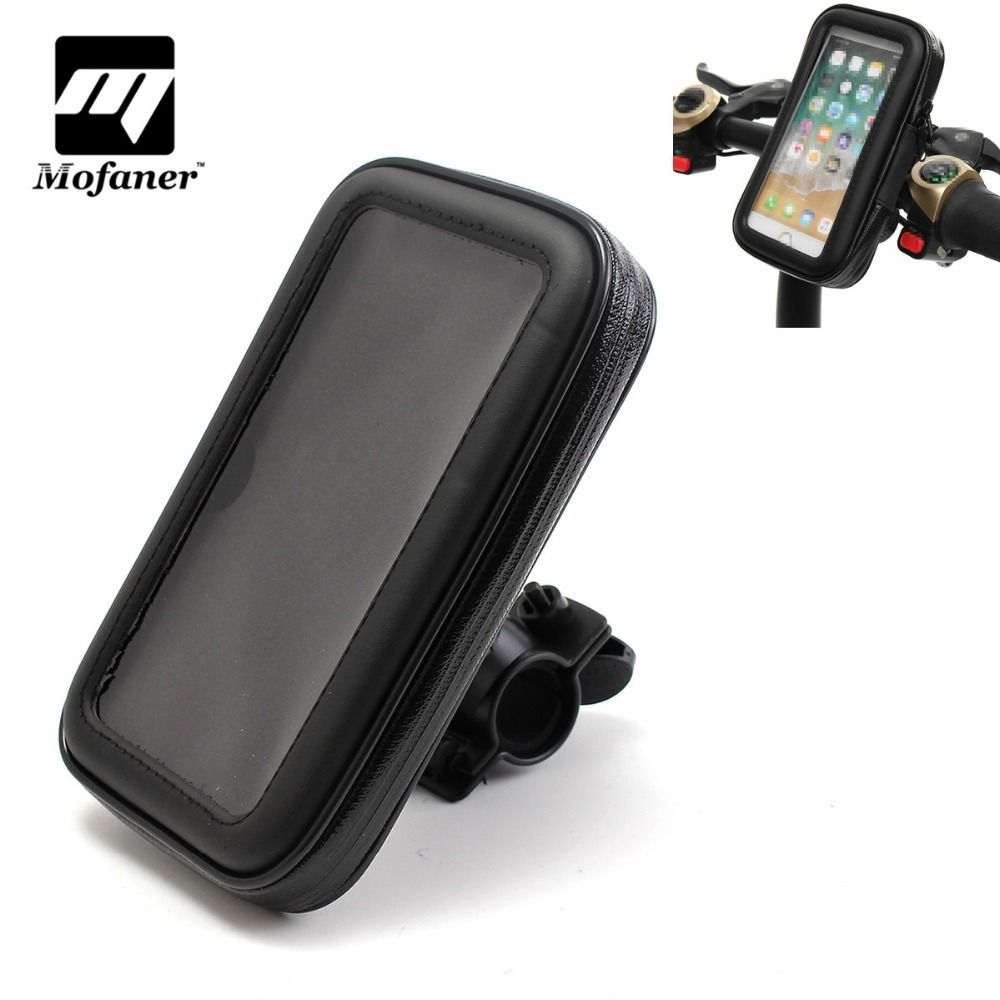 1 Piece Motorcycle MTB Bicycle Bike Phone Mount Holder Waterproof Bag Case For Cell Phone GPS