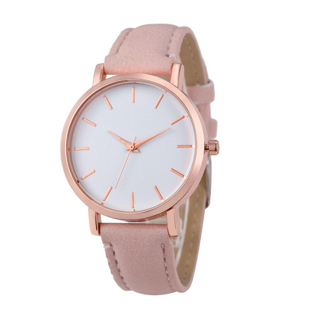 Vico2017 Hot Sale Clock Watches Women brand Fashion dress ladies Watches Leather Stainless women Steel Analog Luxury Wrist Watch