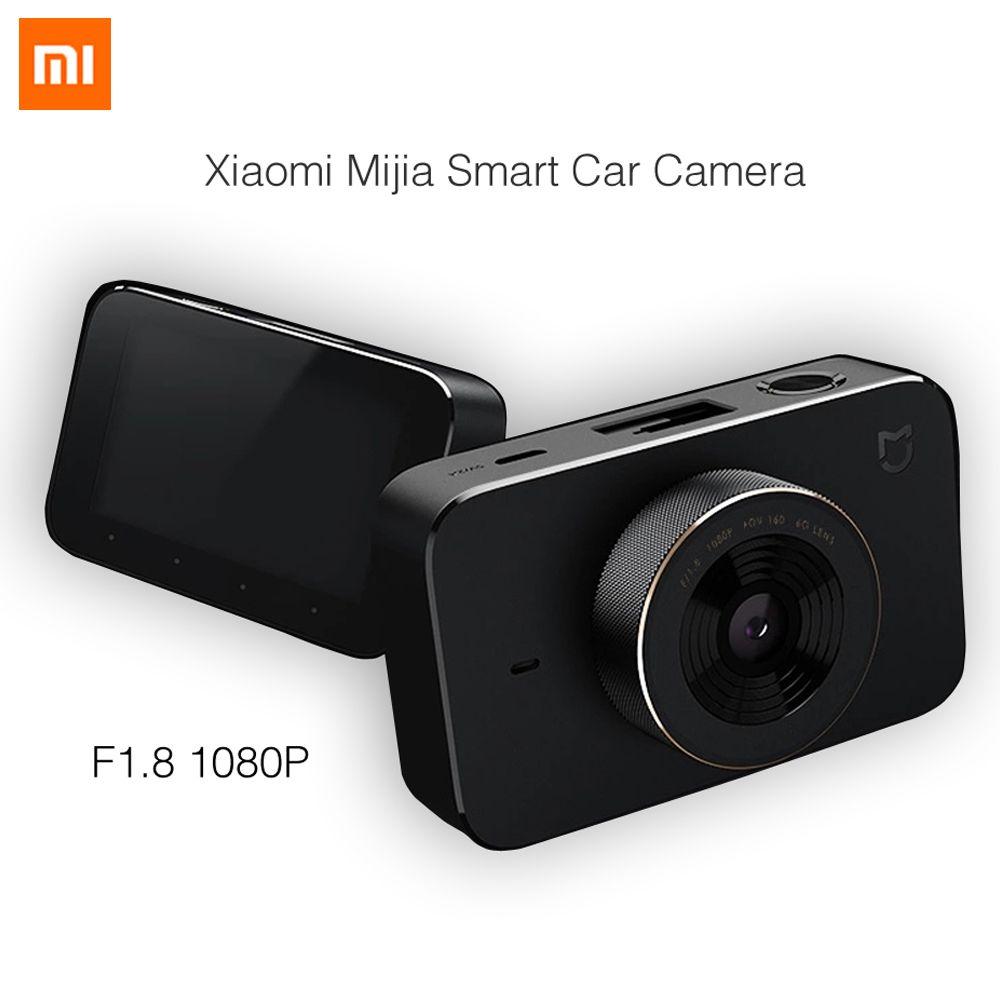 Newest 2017 Xiaomi Mijia Smart Car Carcorder F1.8 1080P 160 Degree Wide Angle 3 Inch HD Screen WiFi Connection Car Mi DVR
