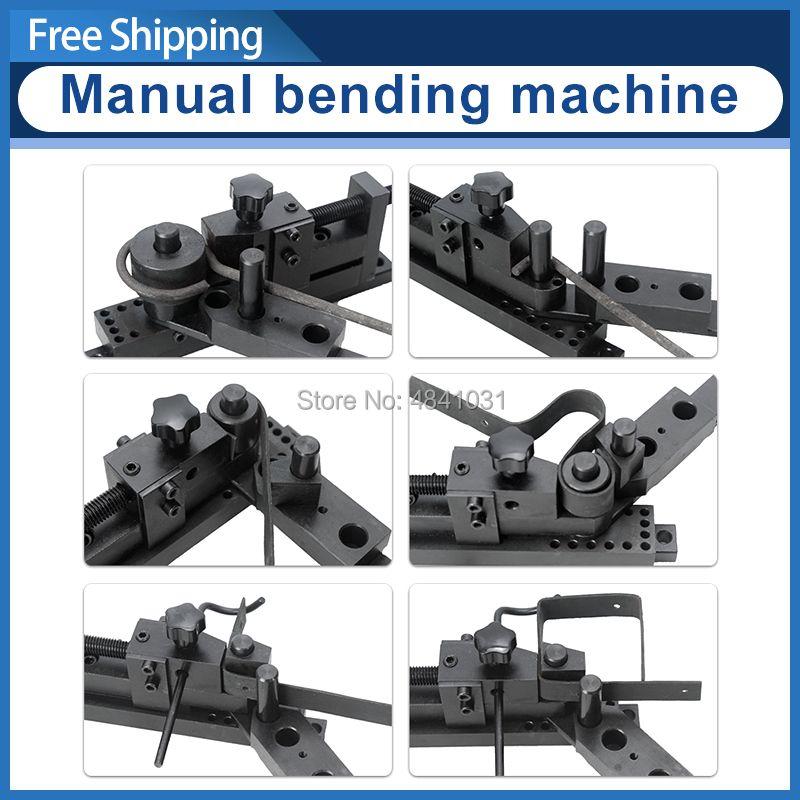 SIEG Biegen maschine Manuelle Bender S/N: 20012 Fünf-generation PLUS universal biegen maschine Update Biegen maschine