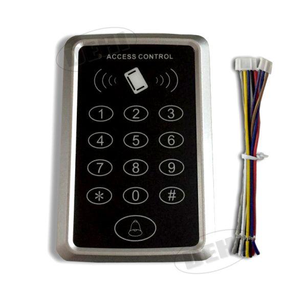 125 Khz 12 V DC Puerta Lector RFID Mini Teclado Sistema de Control de Acceso de Proximidad ID EM4100/TK4100 Tarjeta de Acceso Control de Apertura de La Puerta