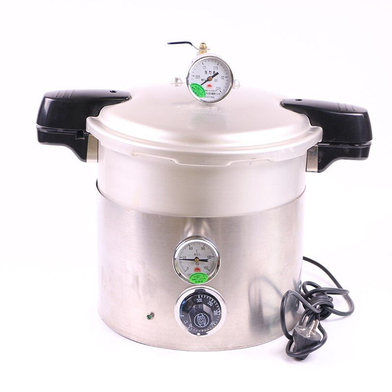 New coming Dental High Pressure Pot small size and easy operations for dental lab Pressure Sterilizing pot