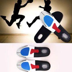 Silicone Gel Olahraga Sol Orthotic Olahraga Sepatu Pad Dukungan Arch Tumit Tinggi Bantal Menjalankan Perawatan Kaki
