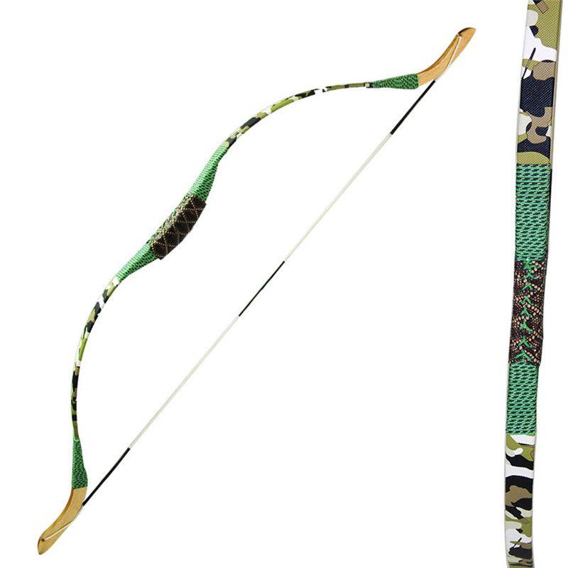 Tir à l'arc classique enfants traditionnels/enfants Sports de plein air jeu fronde tir Camo arc en bois pour le tir