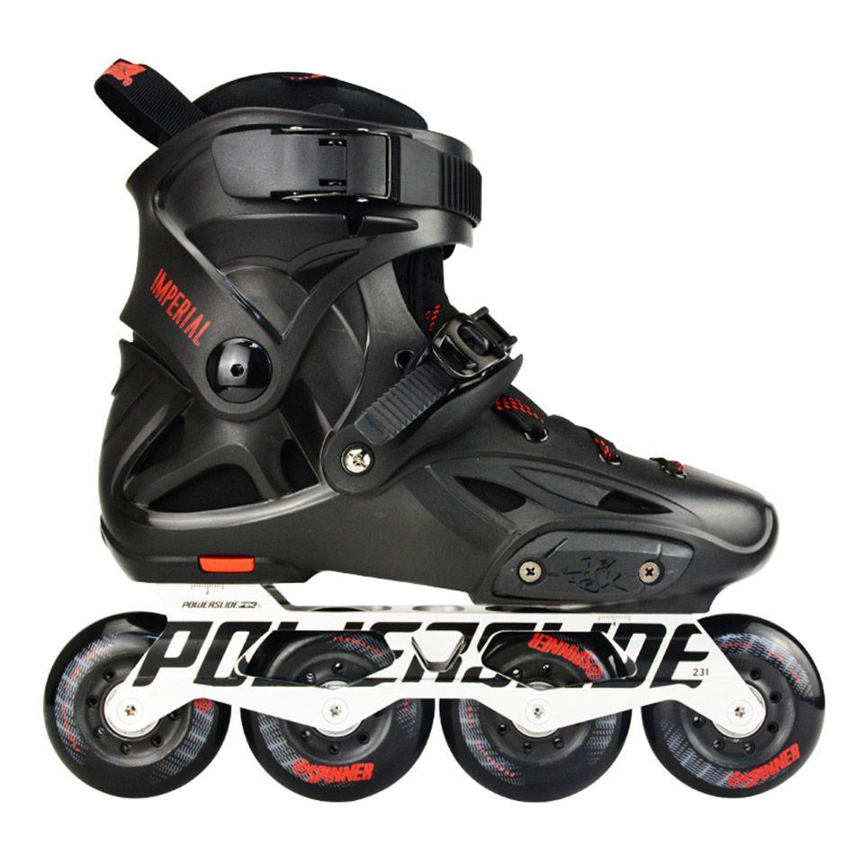 100% Original 2018 Power Kaiser Inline Skates Berufs Slalom Inline Skates Roller Kostenloser Skating Schuhe Schiebe Patines