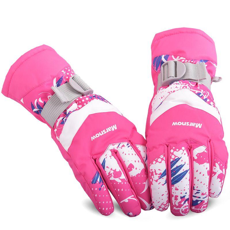 Unix Outdoor Windproof Skiing Gloves Winter Warm Keeping Snowboarding Gloves Driving Motor Gloves Men Waterproof Gloves M XL j2