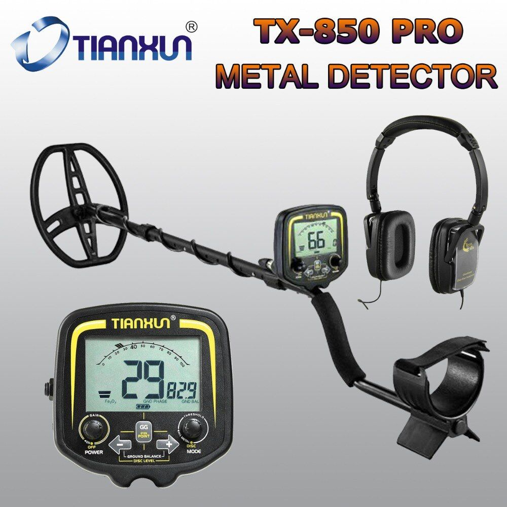 Professional Metal Detector Underground Scanner Gold Hunter Finder Gold Digger Treasure Hunter Detecting Equipment
