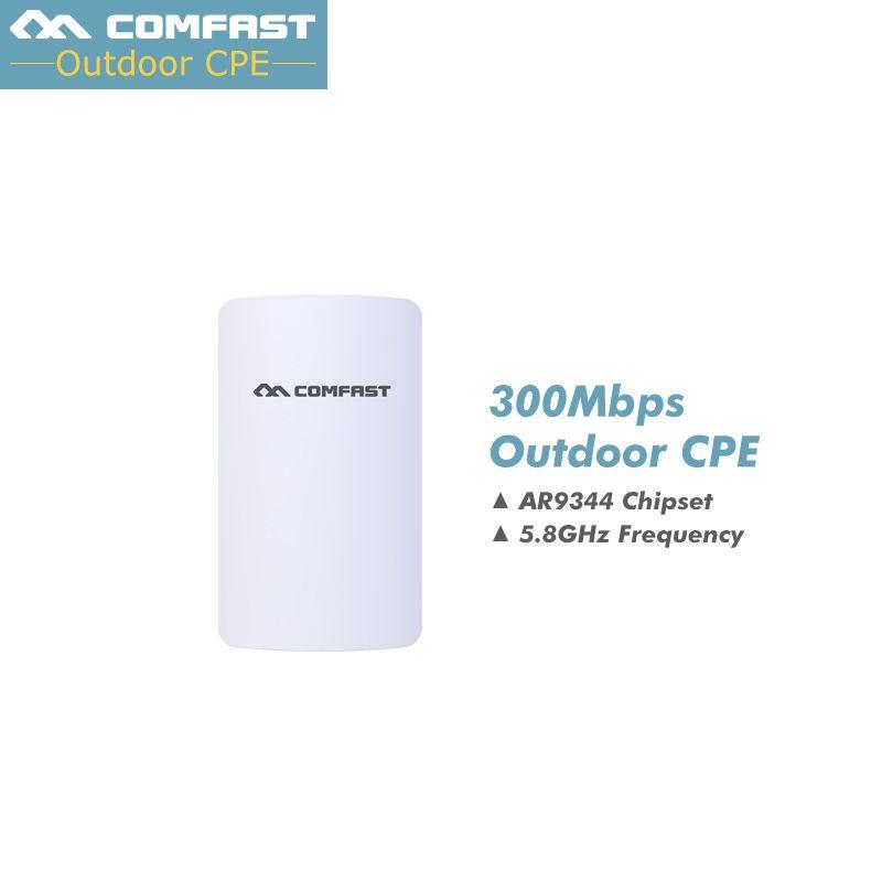 Nouveau, comfast Sans Fil WIFI extérieure routeur 5 GHZ 300 Mbps Mini AP booster de signal WIFI Amplificateur pont Réseau wi fi point d'accès