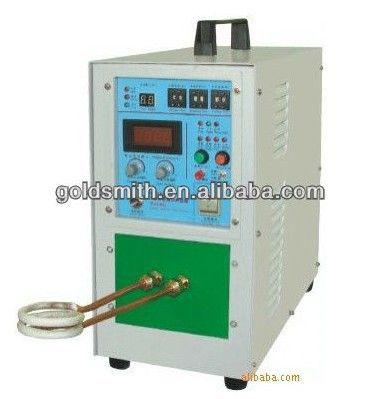 Heißer verkauf schmuck machen maschine 15KW schweißmaschine hochfrequenz-induktions-heizungsanlagen